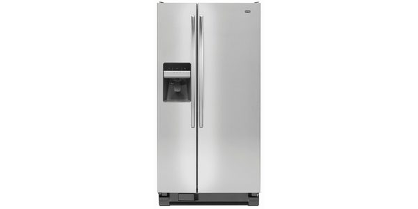 Side-by-Side Refrigerators feature the fresh food compartment next to the freezer and allow food items to be easily seen and retrieved.