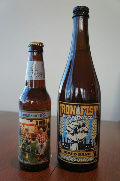 Here is an example of a 12-oz bottle of beer next to a 750-ml bottle.
