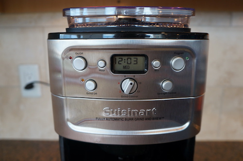 The Cuisinart is highly programmable.