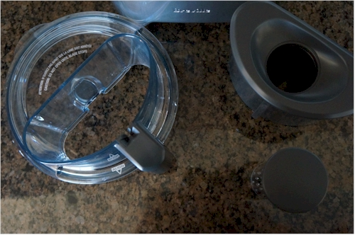 The Breville offers one of the widest feeder tubes we tested.