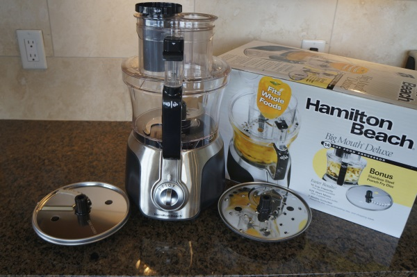The Hamilton Beach Big Mouth Deluxe® 14 Cup Food Processor