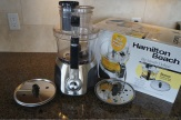 The Hamilton Beach Big Mouth Deluxe 14 Cup Food Processor.