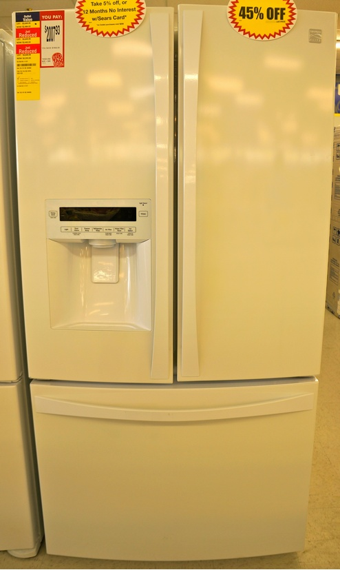 The Kenmore Elite 31.0 cu. ft. French-Door Bottom-Freezer Refrigerator 72052.