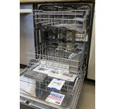 The dishwasher features Maytag's Seal of Silence that uses specially designed sound absorbers all around the dishwasher.