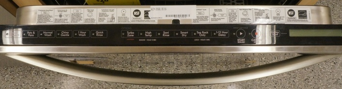 Wash cycle options on the Kenmore Elite 12793.