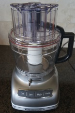 The KitchenAid 11-Cup Food Processor was easy to assemble.