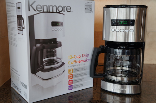 The Kenmore Aroma Control is a great budget buy and offers the programmability of more expensive machines.