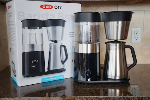The OXO On Barista Brain is SCAA certified and programmable.